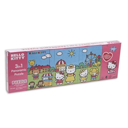 Hello Kitty Panoramic Puzzle 3-1