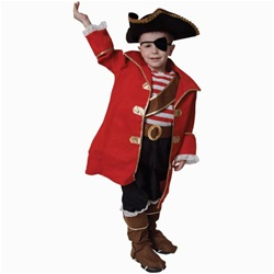 Deluxe Kids Pirate Costume