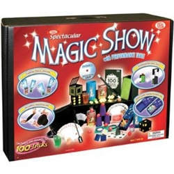 Spectacular 100 Tricks Magic Set with Performance Table