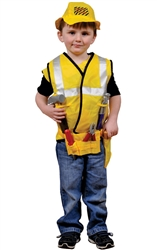 Construction Worker Role Play Dress Up Set
