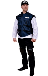Police Man Costume - Adult