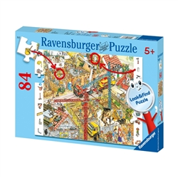 Ravensburger Building Site - 84 Piece Look & Find Puzzle