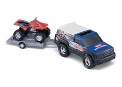 Tonka Off Road Adventure Set Blue Pick up and Red Off-Roader
