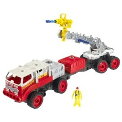 Matchbox Mega Rig 7-in-1 Buildable Fire Squad