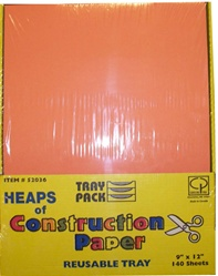 Heaps of Construction Paper