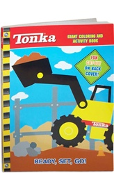 Tonka Ready, Set, Go! Giant Coloring and Activity Book