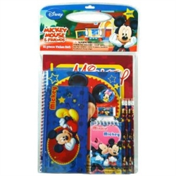 Mickey Mouse 11 Pieces Stationery Set