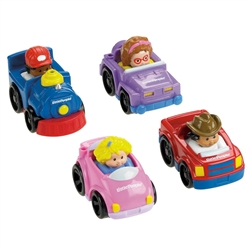 Fisher-Price Little People Wheelies All About Trucks [Toy]