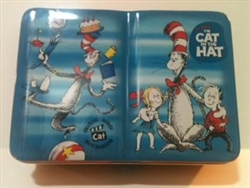Dr. Suess Cat In The Hat Miniature Metal Tin
