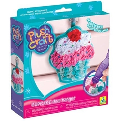 The Orb Factory PlushCraft Cupcake Door Hanger