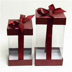 Gourmet Delicacy Gift Boxes - Burgundy