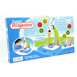 3-1 Super Rocket Ship Projector Art Set