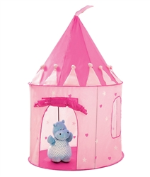 Girls Pink Princess Castle Tent