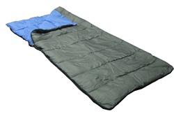 The Blue Cuddler Adult Sleeping Bag