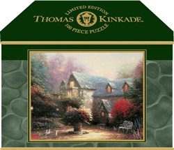 Thomas Kinkade Blessings of Spring Jigsaw Puzzle