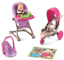 *New* Fisher-Price Loving Family Everything for Baby