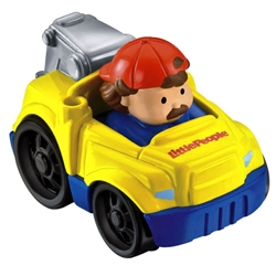 Little People Holiday Wheelies Tow Truck