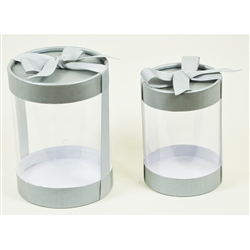 Wide Cylinder Display Gift Box